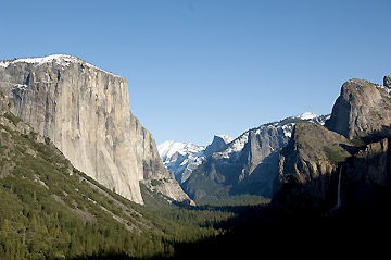 Cliched Shot of Yosemite Valley from Inspiration Point