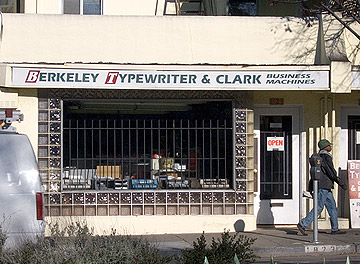 Berkeley Typewriter
