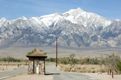 Manzanar Relocation Camp, California