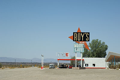 Roy's, Amboy, Route 66, California