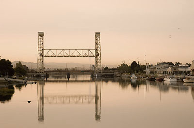 Early Morning, Fruitvale Bridge from Park Street Bridge