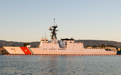 Coast Guard Cutter Bertholf at Alameda, 2008