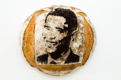 Barack Obama Bread from the Feel Good Bakery, Alameda, CA